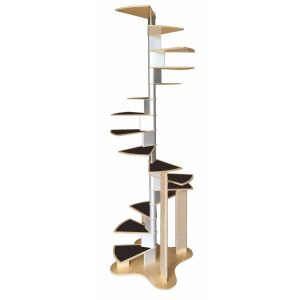 Spiral Cat Staircase Tree by CatsPlay