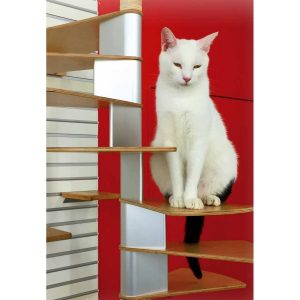 Luxury Cat Trees: Spiral Cat Staircase Tree by CatsPlay