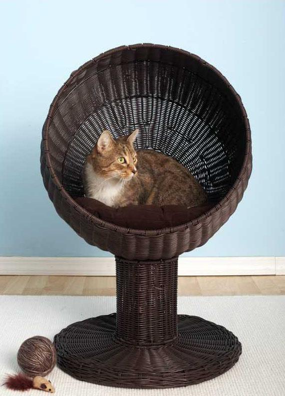 Kittys World Round Raised Bed