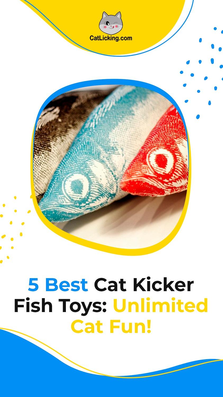 Cat Kicker Fish Toys