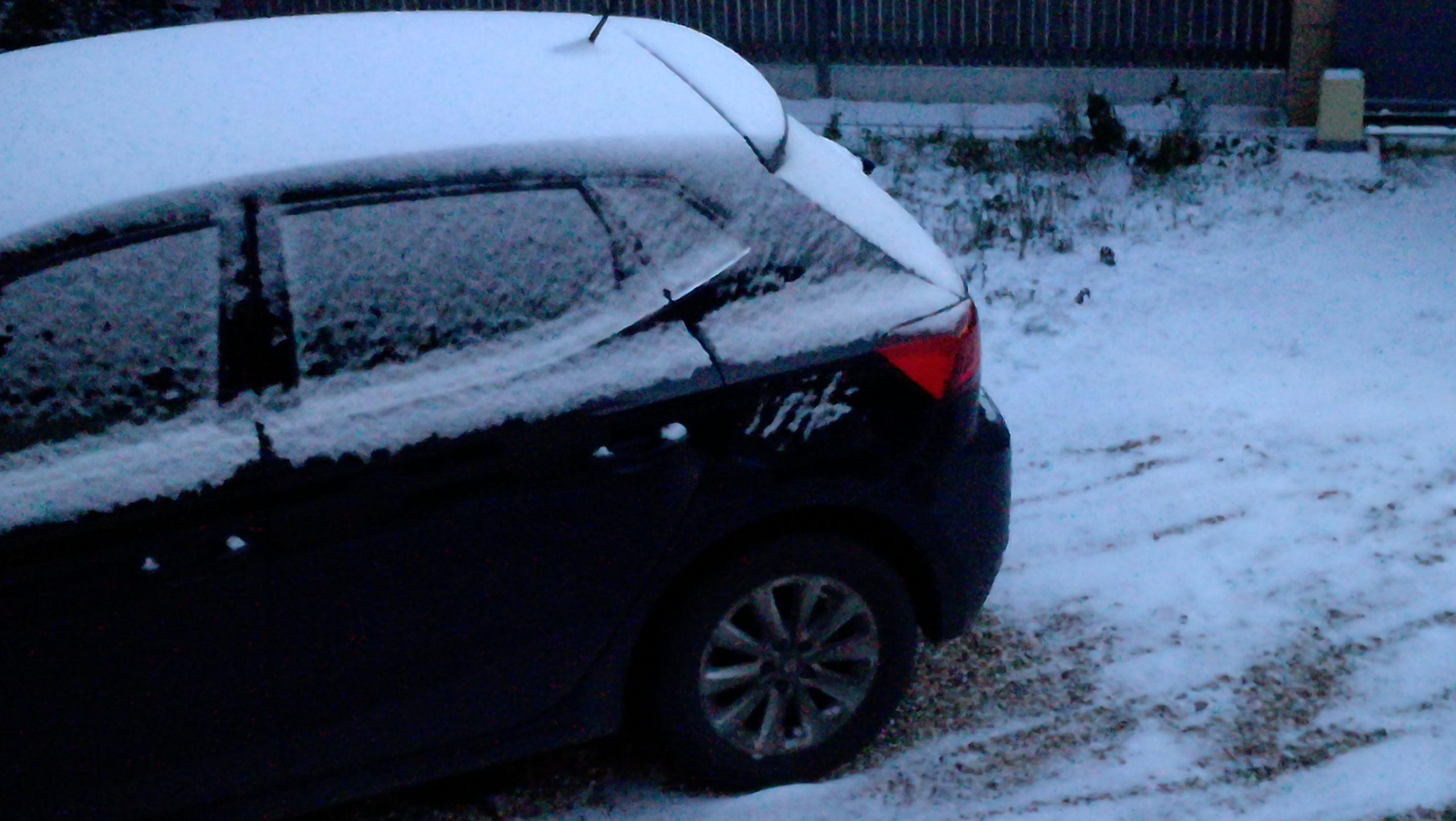 Car Under the Snow