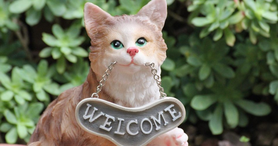 Cat Welcome